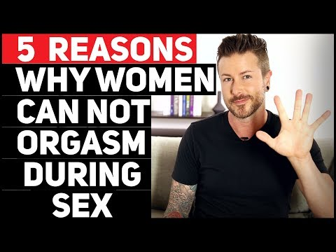 Women who can not orgasm