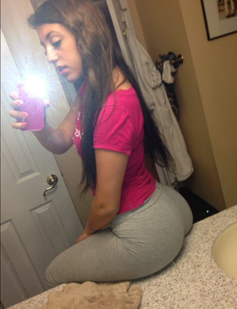 White girl with ass