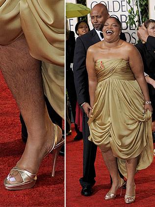 Black girl hairy legs