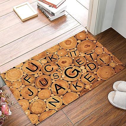 In fuck floor scene the door