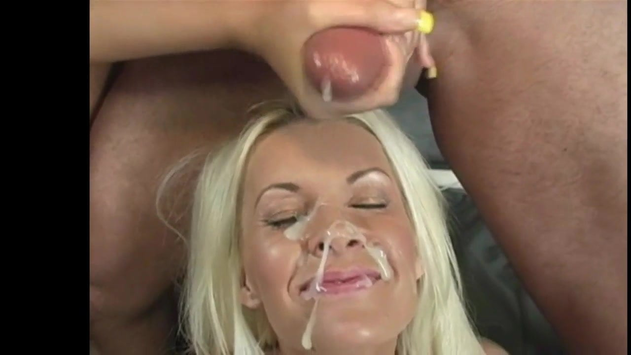 Cum in face photo