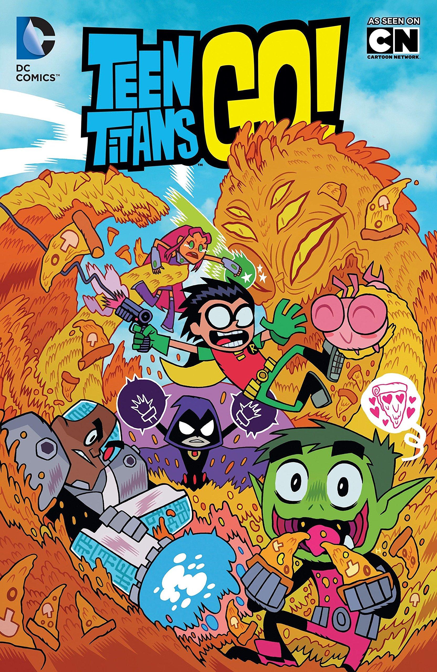 Cartoon network teen titans comic