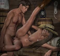 Brunette having lesbian sex