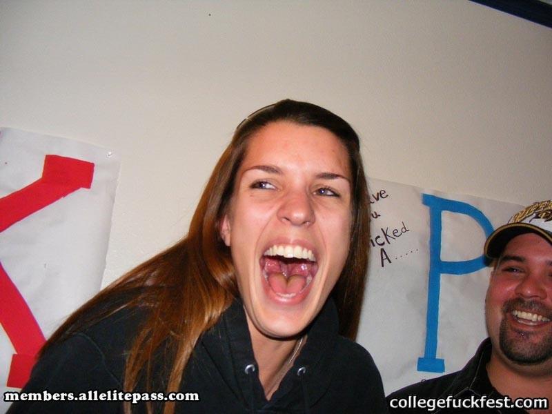 Dildo drunk college lesbian