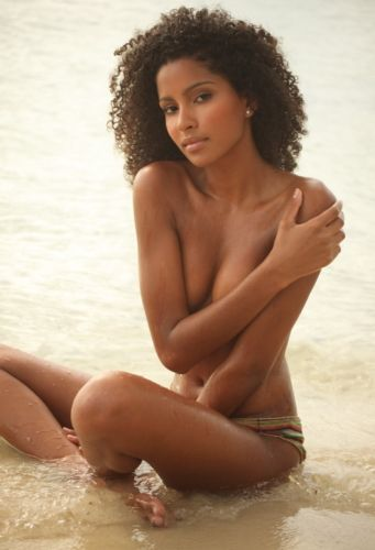 Ebony woman nude beach