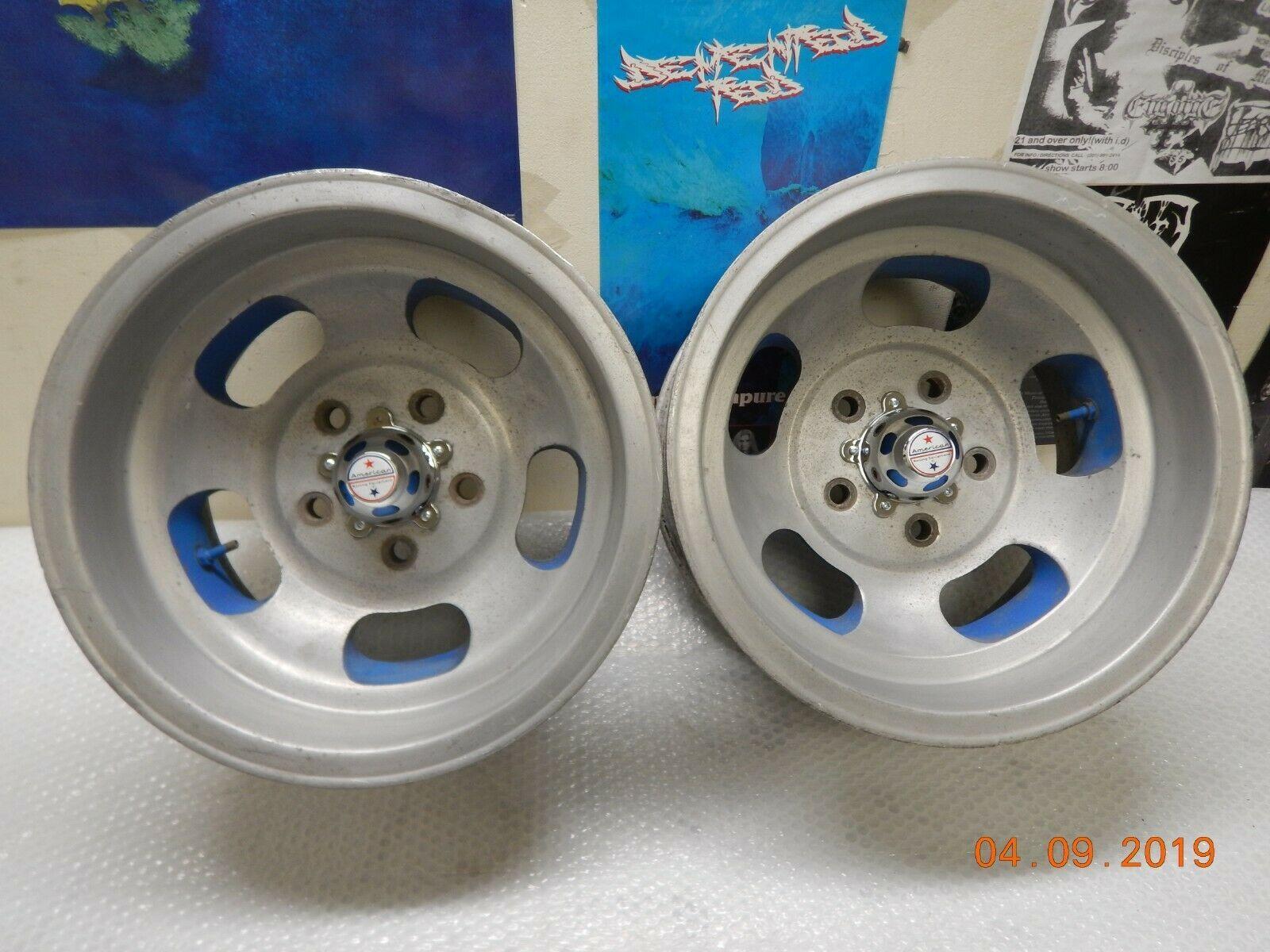 Vintage slotted mag wheels