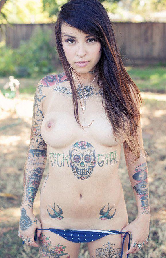 Hot naked emo girls tattoos