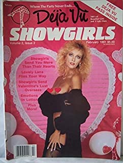 Showgirl magazine model nude