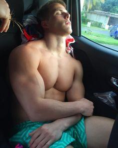Sexy naked boys sleep together