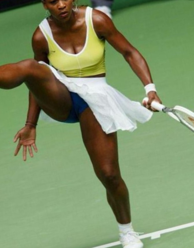 Hot, naked pics of serena williams