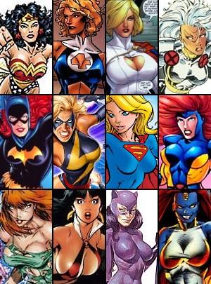 Dc comics big boobs breast expansion