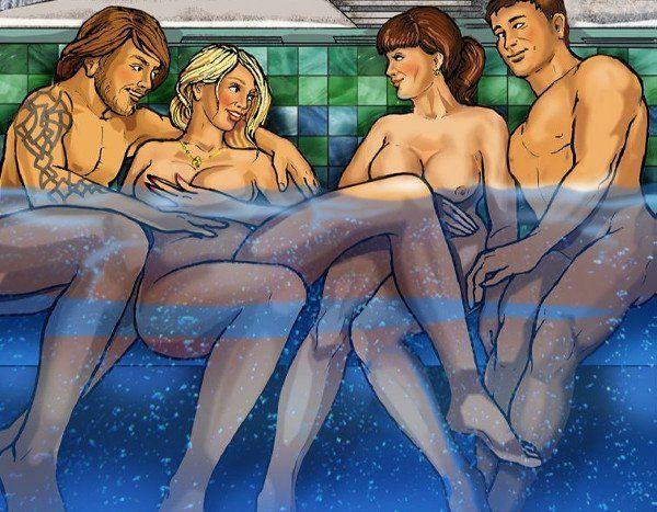 Mature swinger cruise porn