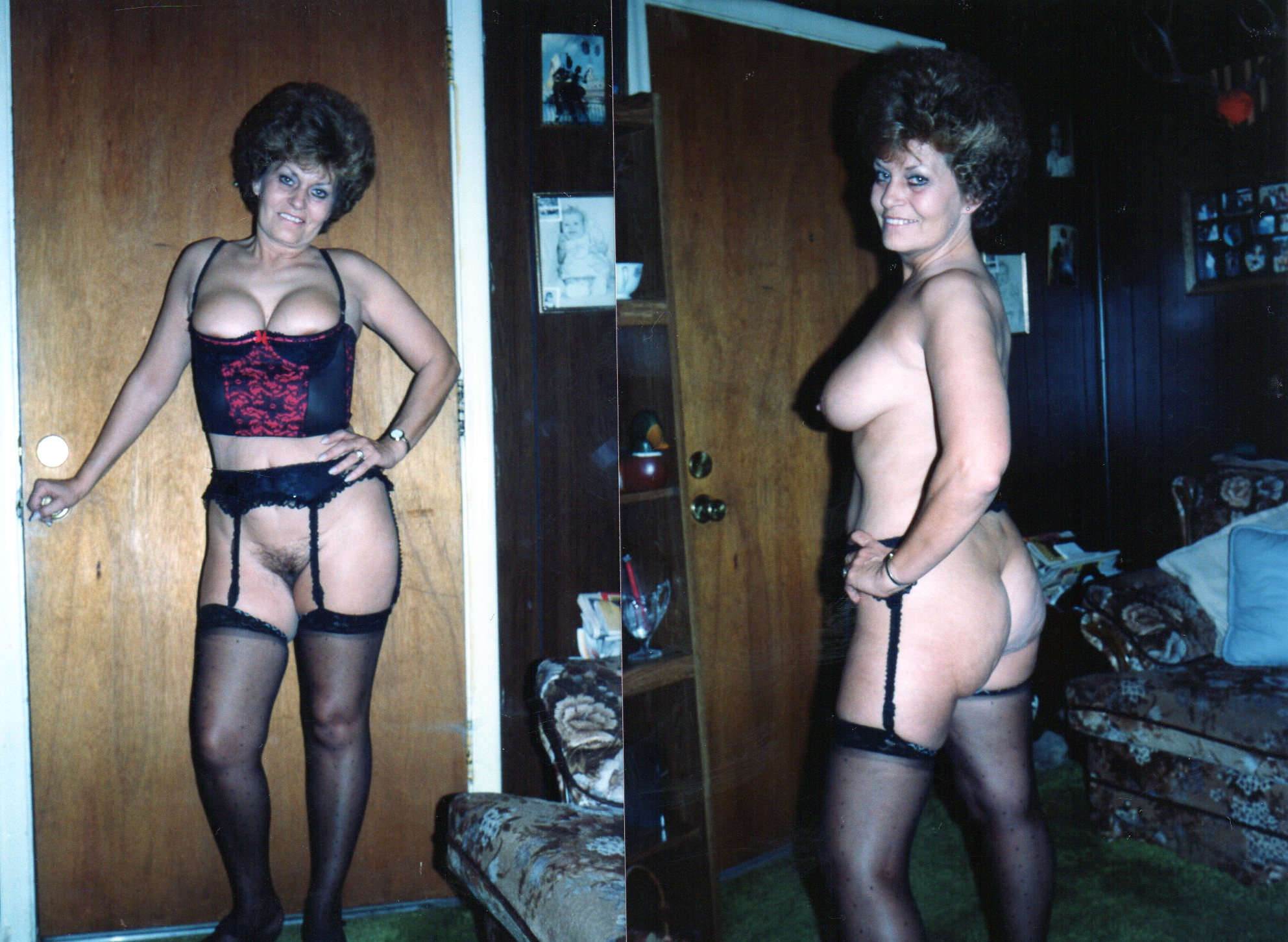 Polaroid dressed undressed amateurs