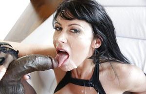 Anal black oiled porn