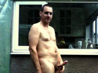 Boy public in twink nude