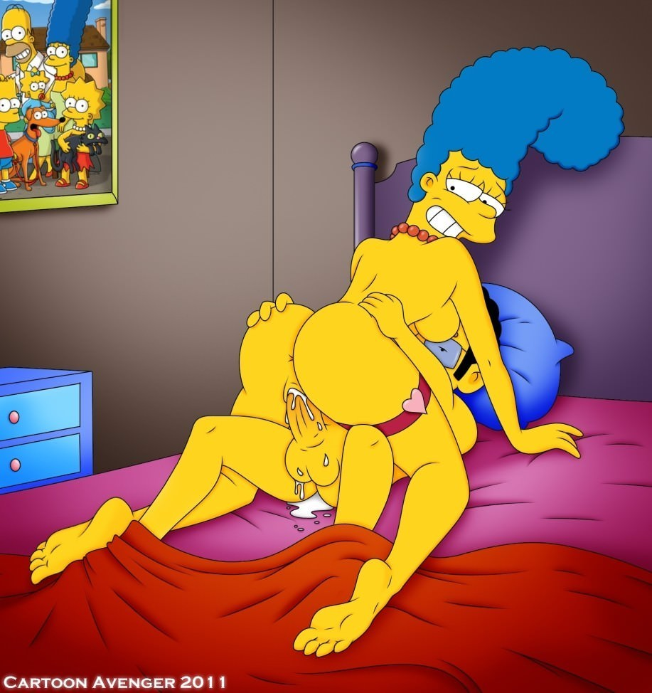 Nur hot simpsons cartoon girls pornobilder