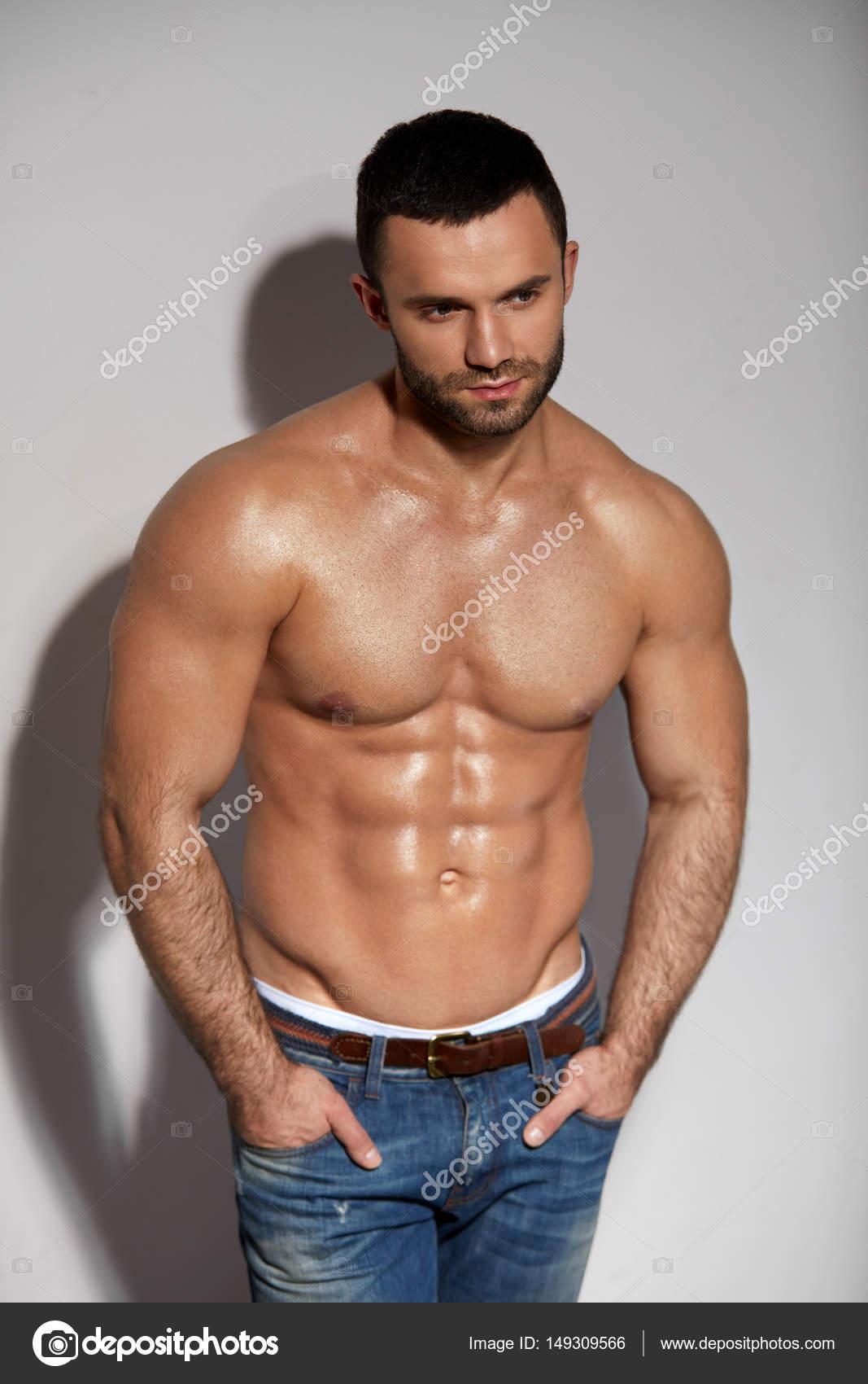 Naked model sexy hot man