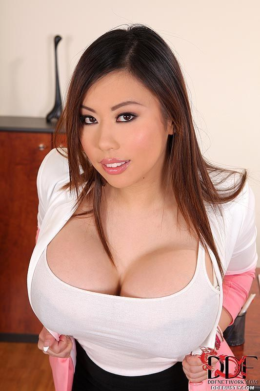 Asian big boob picture