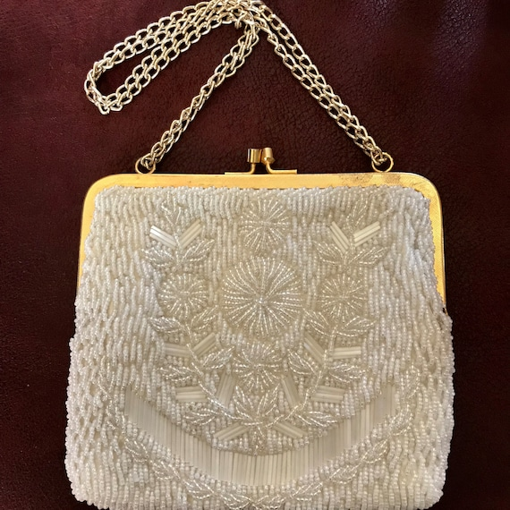 Vintage beaded handbag la regale ltd