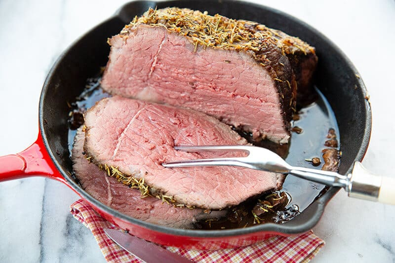 Beef roast bottom round boneless