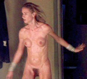 Nude chrissy cap d agde