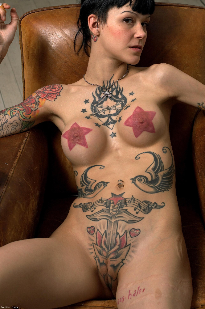 Slut tattoo emo porn