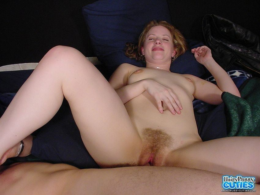 Hairy redhead getting fucked