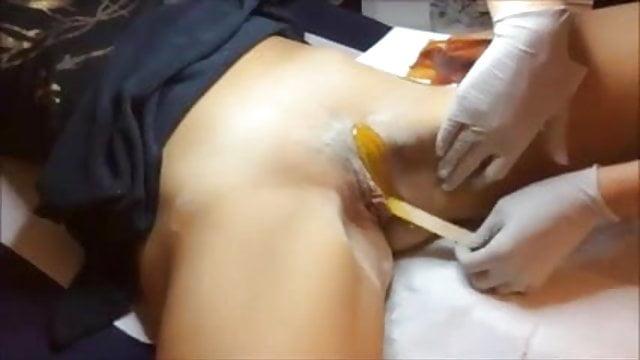 Pussy waxing brazilian wax