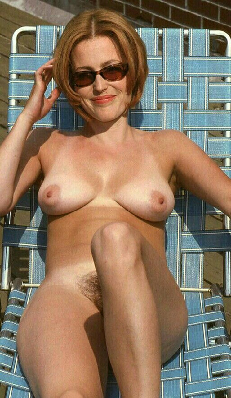 Gillian anderson hairy pussy