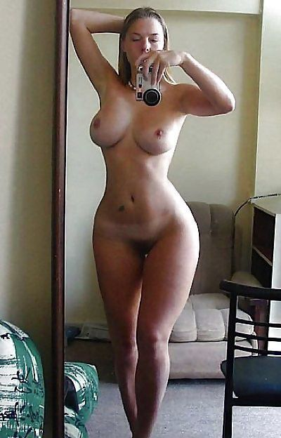 Beautiful brunette perfect body amateur