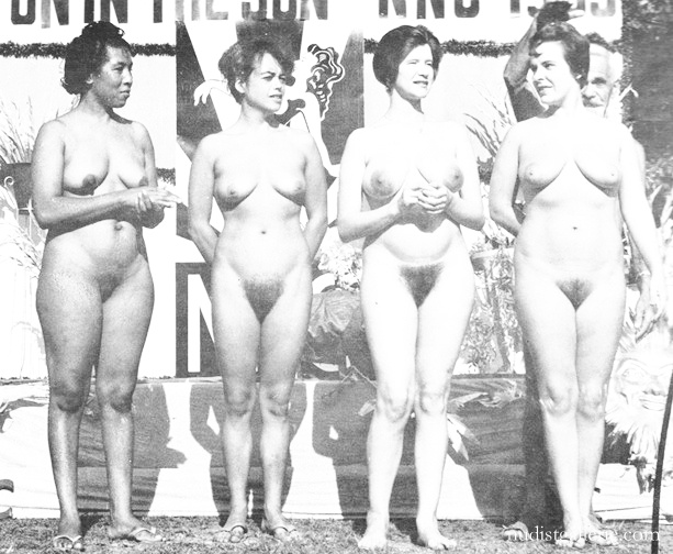 Vintage womens beauty contest nude