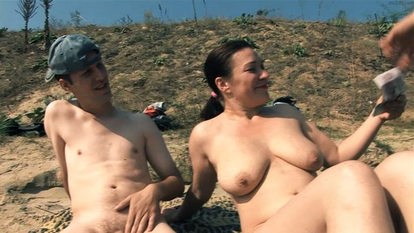 Mom and son nudes beach pics