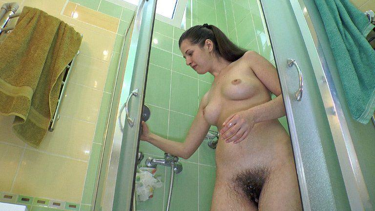 Pussy shower porn hairy