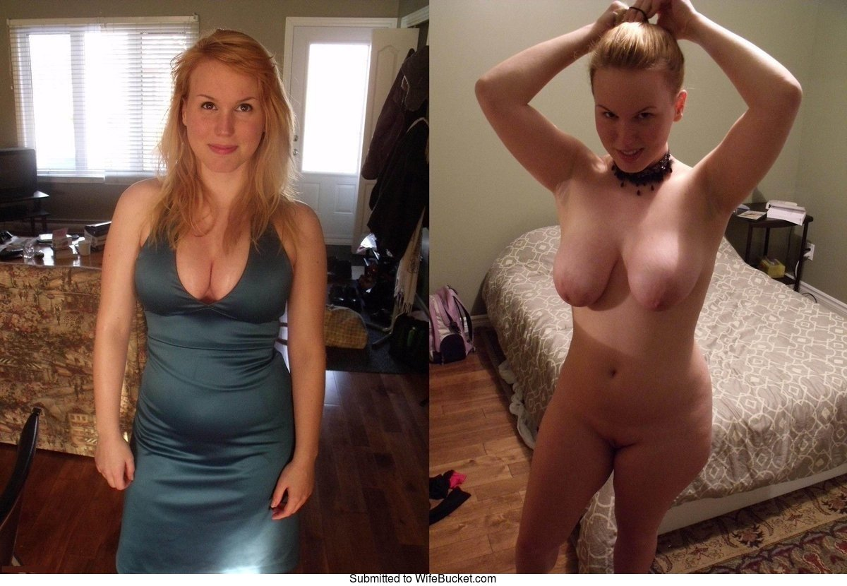 Vagina before after clothed