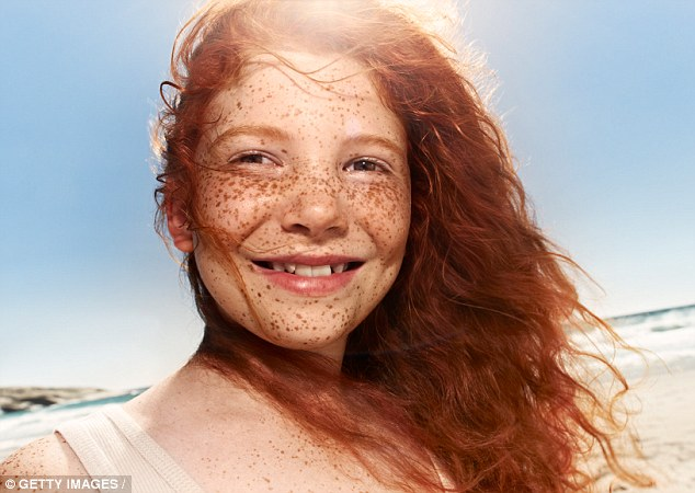 Fair skin large busted redheads