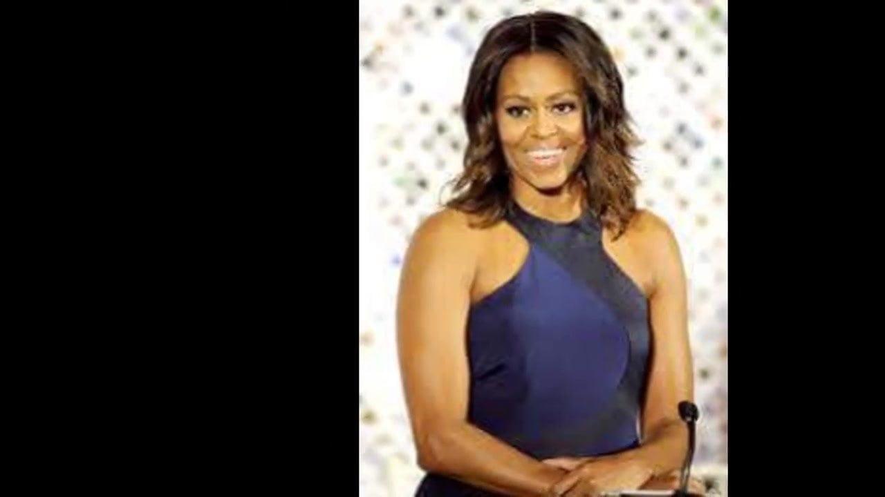 Michelle obama pictoa nude - tits pics