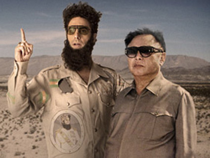 Sacha baron cohen dictator nude
