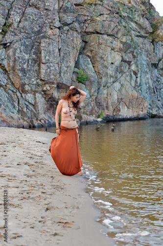 Beautiful nudes at beach