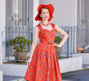 Sarah nicola randall red