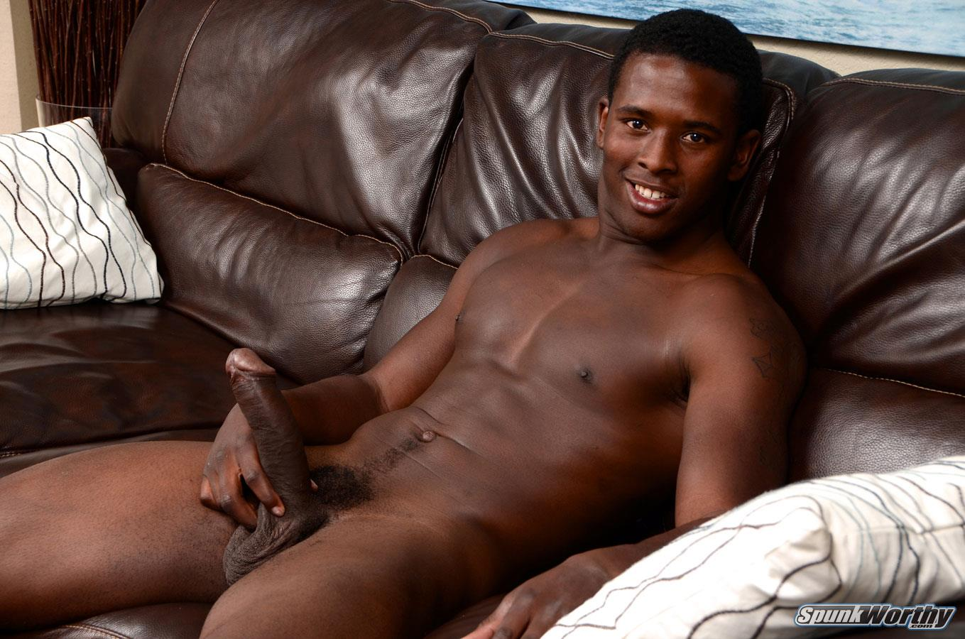 African boy with big black penis
