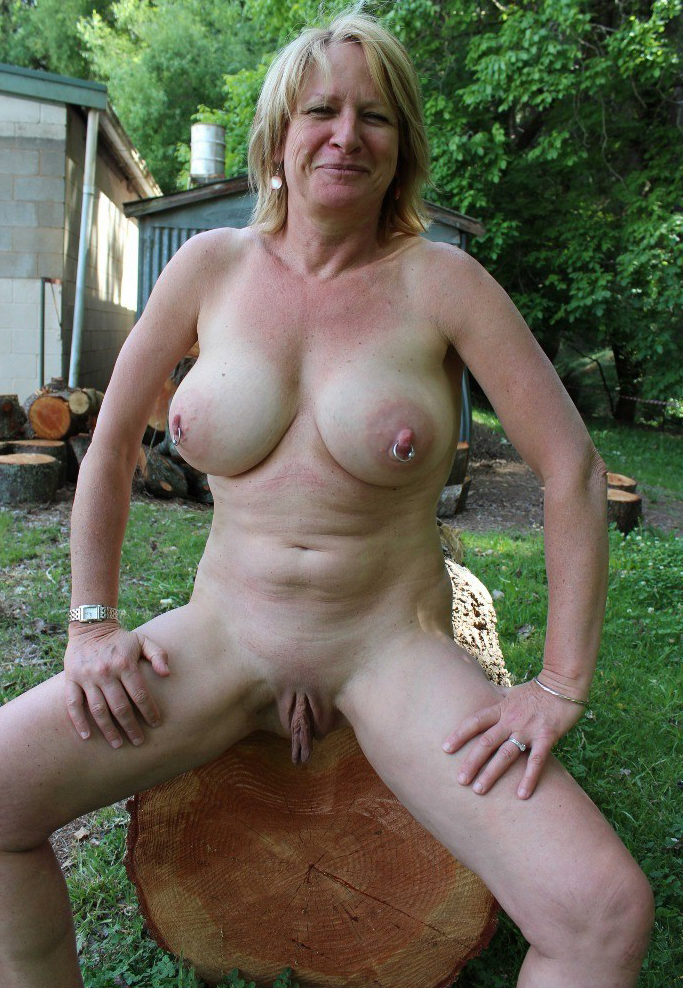 Boobs large mature with
