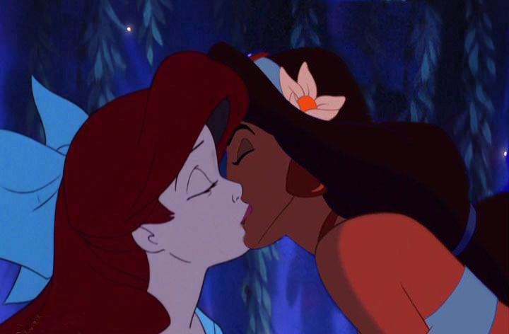 Princess ariel lesbian cartoon belle porn disney