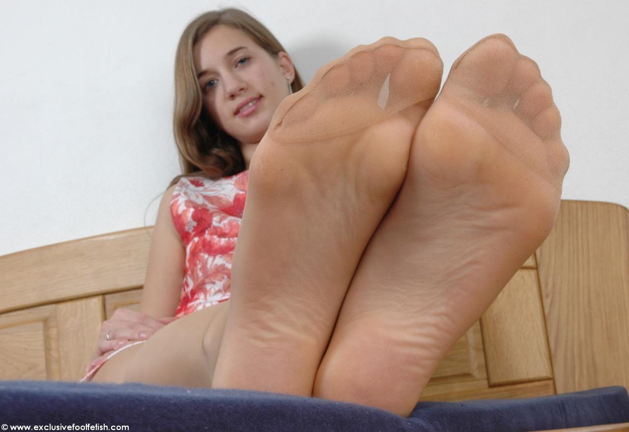 Nylon feet selfie pinterest