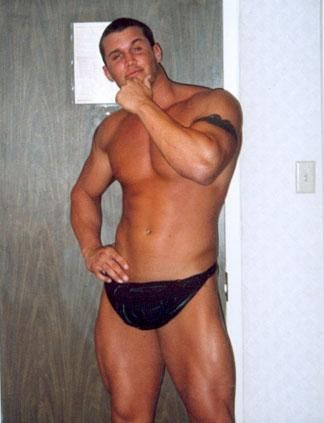 Randy orton naked fake