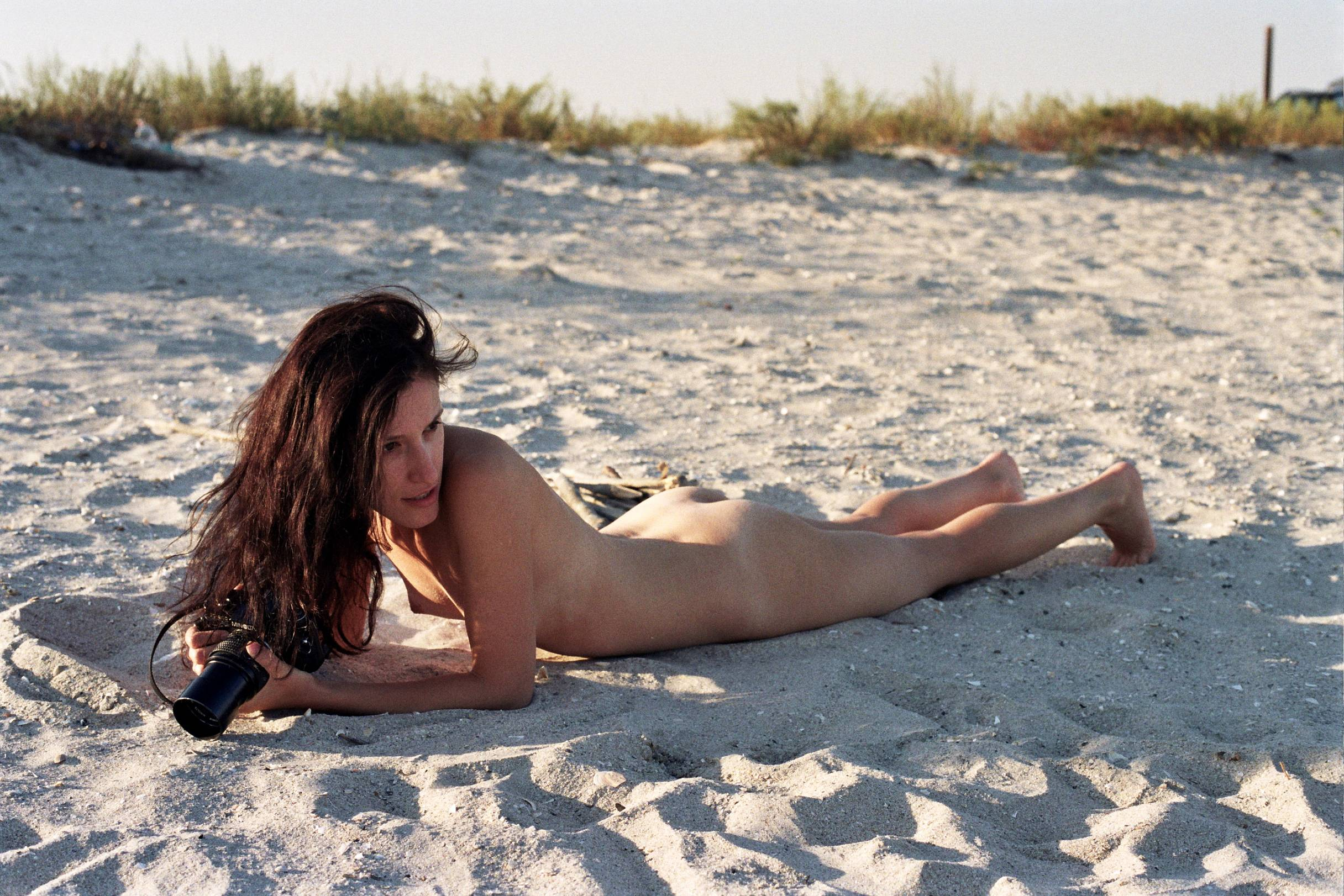 Nude girl with camera pics