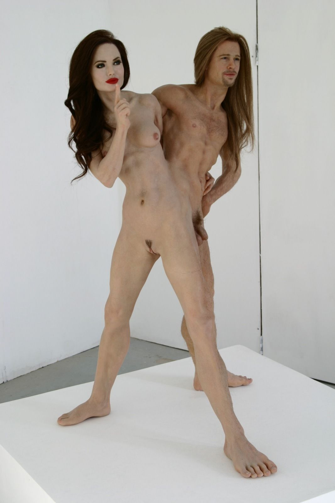 Naked sex brad angelina pitt jolie