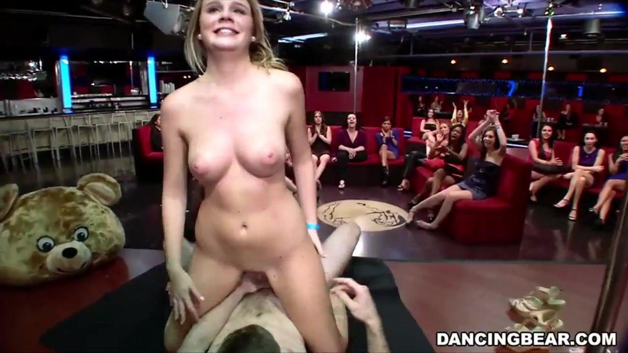Dancing bear fucking in da club