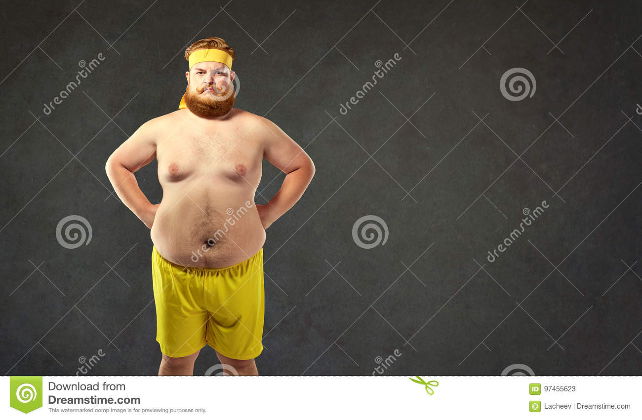Pics of fat naked men