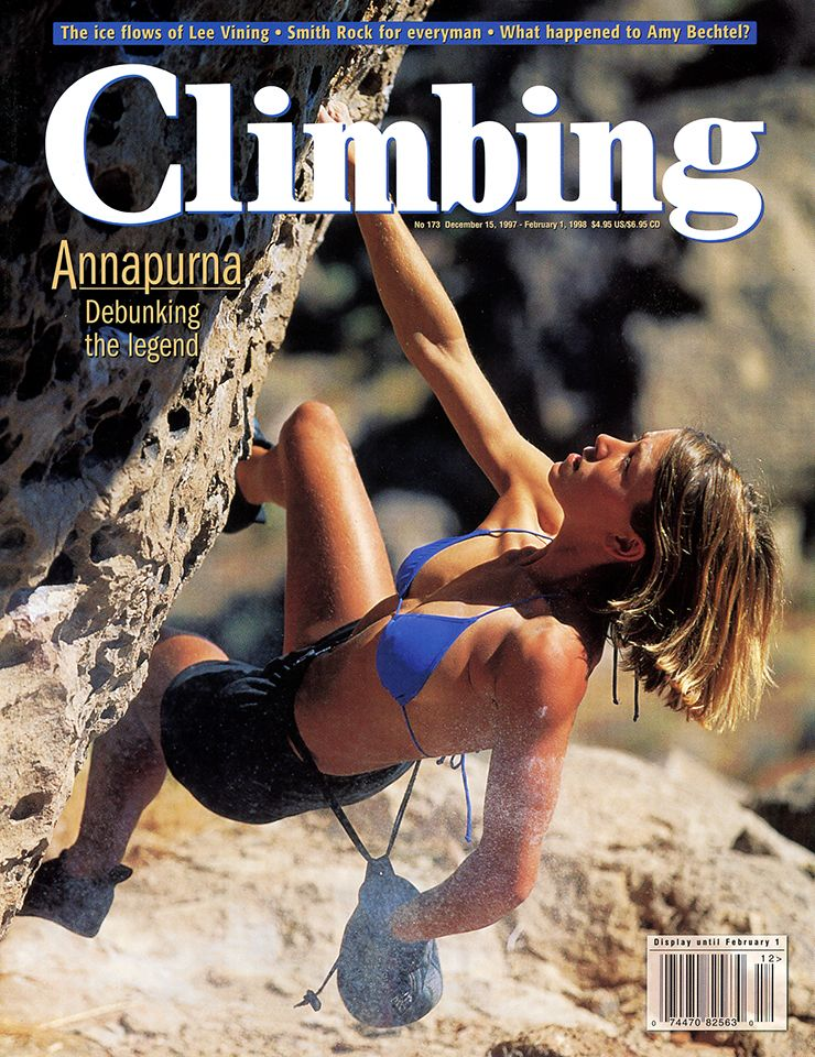 Hairy rock climbing girls