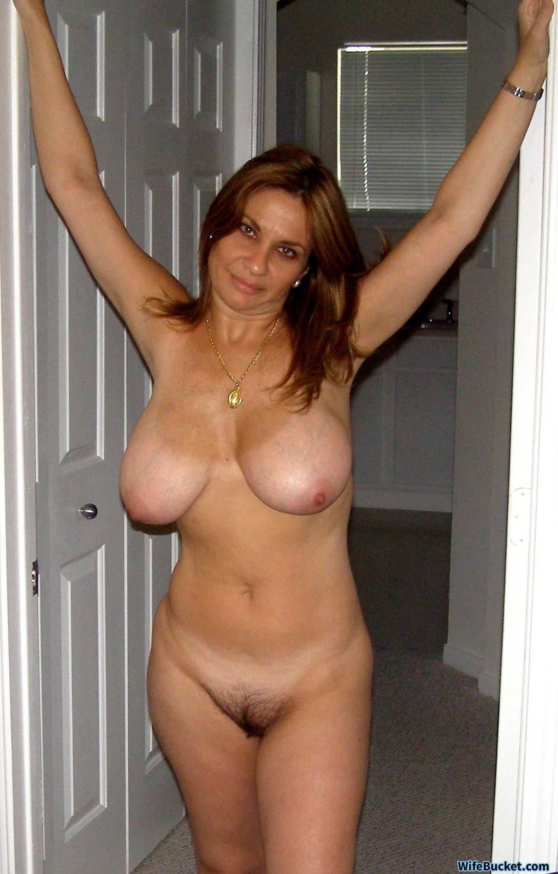 Big boob mature wife